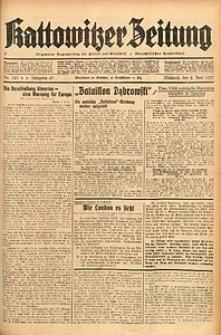Kattowitzer Zeitung, 1937, Jg. 69, nr123