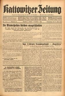 Kattowitzer Zeitung, 1937, Jg. 69, nr136