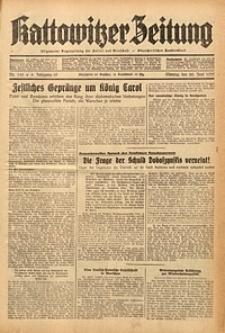 Kattowitzer Zeitung, 1937, Jg. 69, nr145