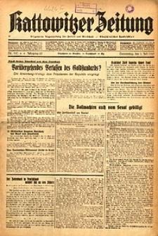 Kattowitzer Zeitung, 1937, Jg. 69, nr147
