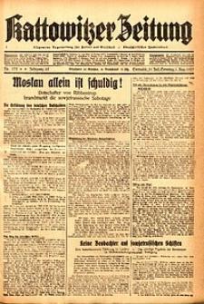 Kattowitzer Zeitung, 1937, Jg. 69, nr173
