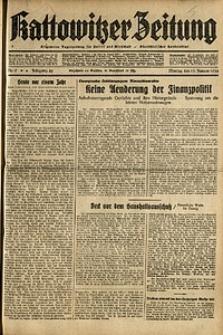 Kattowitzer Zeitung, 1936, Jg. 68, Nr.9