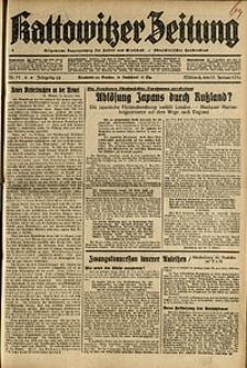Kattowitzer Zeitung, 1936, Jg. 68, Nr.11