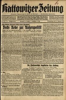 Kattowitzer Zeitung, 1936, Jg. 68, Nr.12