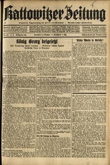 Kattowitzer Zeitung, 1936, Jg. 68, Nr.23