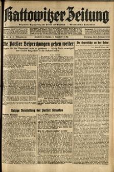 Kattowitzer Zeitung, 1936, Jg. 68, Nr.28
