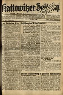 Kattowitzer Zeitung, 1936, Jg. 68, Nr.37