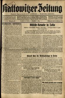 Kattowitzer Zeitung, 1936, Jg. 68, Nr.47