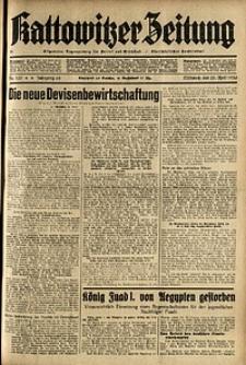 Kattowitzer Zeitung, 1936, Jg. 68, Nr.100