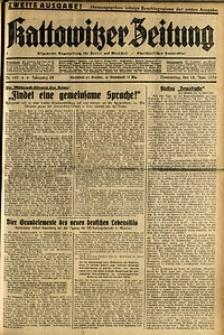 Kattowitzer Zeitung, 1936, Jg. 68, Nr.140