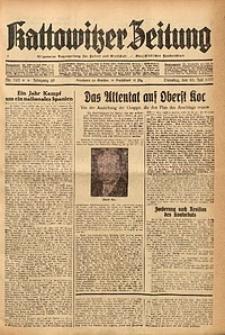 Kattowitzer Zeitung, 1937, Jg. 69, nr 163