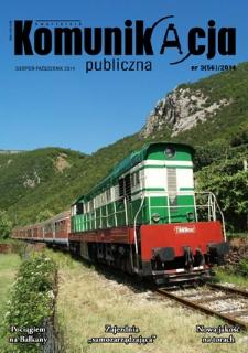 Komunikacja Publiczna, 2014, R. 11, nr 3 (56)