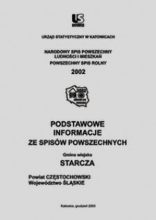 Starcza. Województwo śląskie. Powiat częstochowski. Gmina wiejska