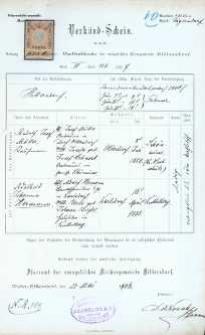 Akt zawarcia małżeństwa z 25.05.1906 r.