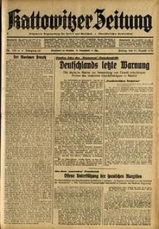 Kattowitzer Zeitung, 1936, Jg. 68, Nr.196