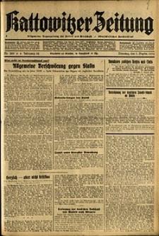Kattowitzer Zeitung, 1936, Jg. 68, Nr.205