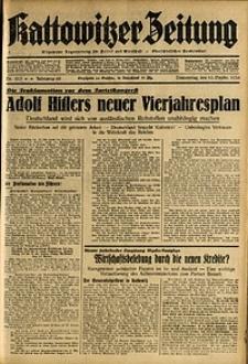 Kattowitzer Zeitung, 1936, Jg. 68, Nr.213