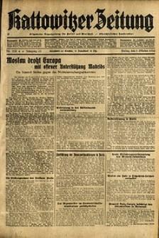 Kattowitzer Zeitung, 1936, Jg. 68, Nr.238
