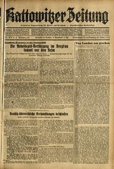 Kattowitzer Zeitung, 1936, Jg. 68, Nr.275