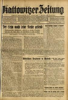 Kattowitzer Zeitung, 1936, Jg. 68, Nr.285