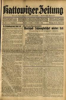 Kattowitzer Zeitung, 1936, Jg. 68, Nr.303