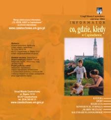 Co, gdzie, kiedy w Częstochowie, 2004, nr4