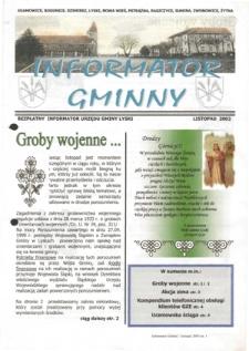 Informator Gminny - Lyski, 2003, nr9