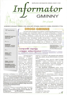 Informator Gminny - Lyski, 2008, nr5