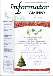 Informator Gminny - Lyski, 2009, nr6