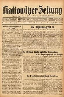 Kattowitzer Zeitung, 1937, Jg. 69, nr177