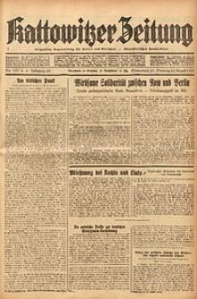Kattowitzer Zeitung, 1937, Jg. 69, nr191