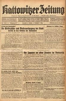 Kattowitzer Zeitung, 1937, Jg. 69, nr194