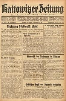 Kattowitzer Zeitung, 1937, Jg. 69, nr201
