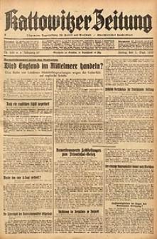 Kattowitzer Zeitung, 1937, Jg. 69, nr202