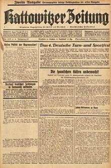 Kattowitzer Zeitung, 1937, Jg. 69, nr215. - Zweite Ausgabe
