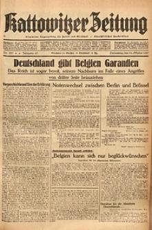 Kattowitzer Zeitung, 1937, Jg. 69, nr237