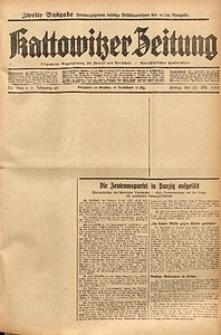 Kattowitzer Zeitung, 1937, Jg. 69, nr244