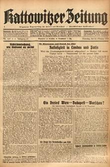 Kattowitzer Zeitung, 1937, Jg. 69, nr247