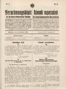Verordnungsblatt für das General-Gouvernement Warschau, 1915, Nr. 8