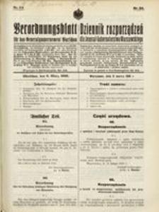 Verordnungsblatt für das Generalgouvernement Warschau, 1916, Nr. 24