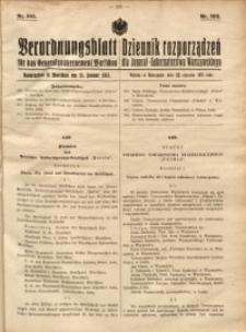 Verordnungsblatt für das Generalgouvernement Warschau, 1918, Nr.103