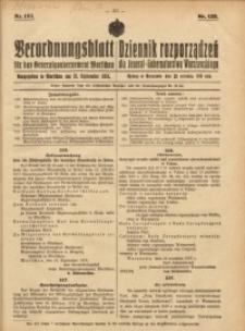 Verordnungsblatt für das Generalgouvernement Warschau, 1918, Nr.125
