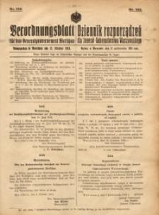 Verordnungsblatt für das Generalgouvernement Warschau, 1918, Nr.126