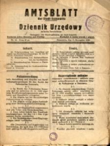 Amtsblatt der Stadt Sosnowitz, 1939, Nr. 14