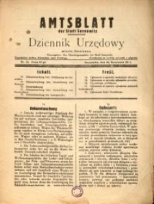 Amtsblatt der Stadt Sosnowitz, 1939, Nr. 15