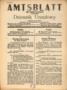 Amtsblatt der Stadt Sosnowitz, 1940, Nr.41