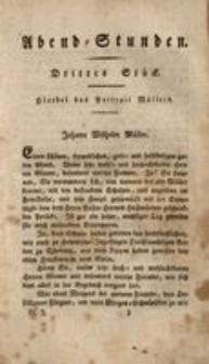 Abend-Stunden, 1822, St.3