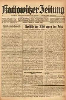 Kattowitzer Zeitung, 1937, Jg. 69, nr262