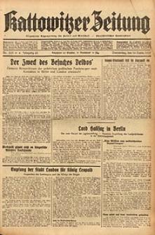 Kattowitzer Zeitung, 1937, Jg. 69, nr265