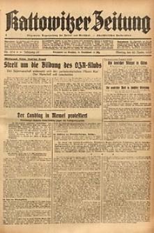 Kattowitzer Zeitung, 1937, Jg. 69, nr274